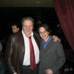 Me and Eddie Brill after a show.